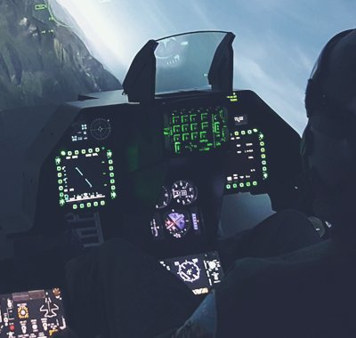 Turnkey F-16 Fighter Jet Simulator