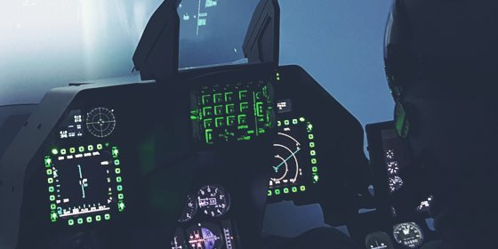 F-16 Flight simulator