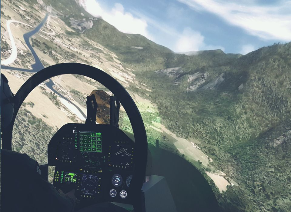 The best F-18 Simulator