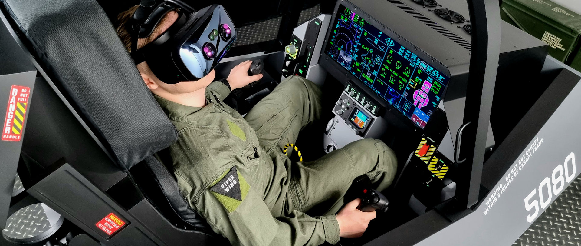 Ready, PREPAR3D based, F-35 Fighter Jet Simulator