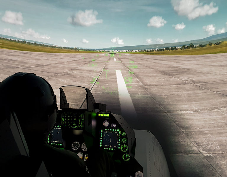 The best F-16 Simulator