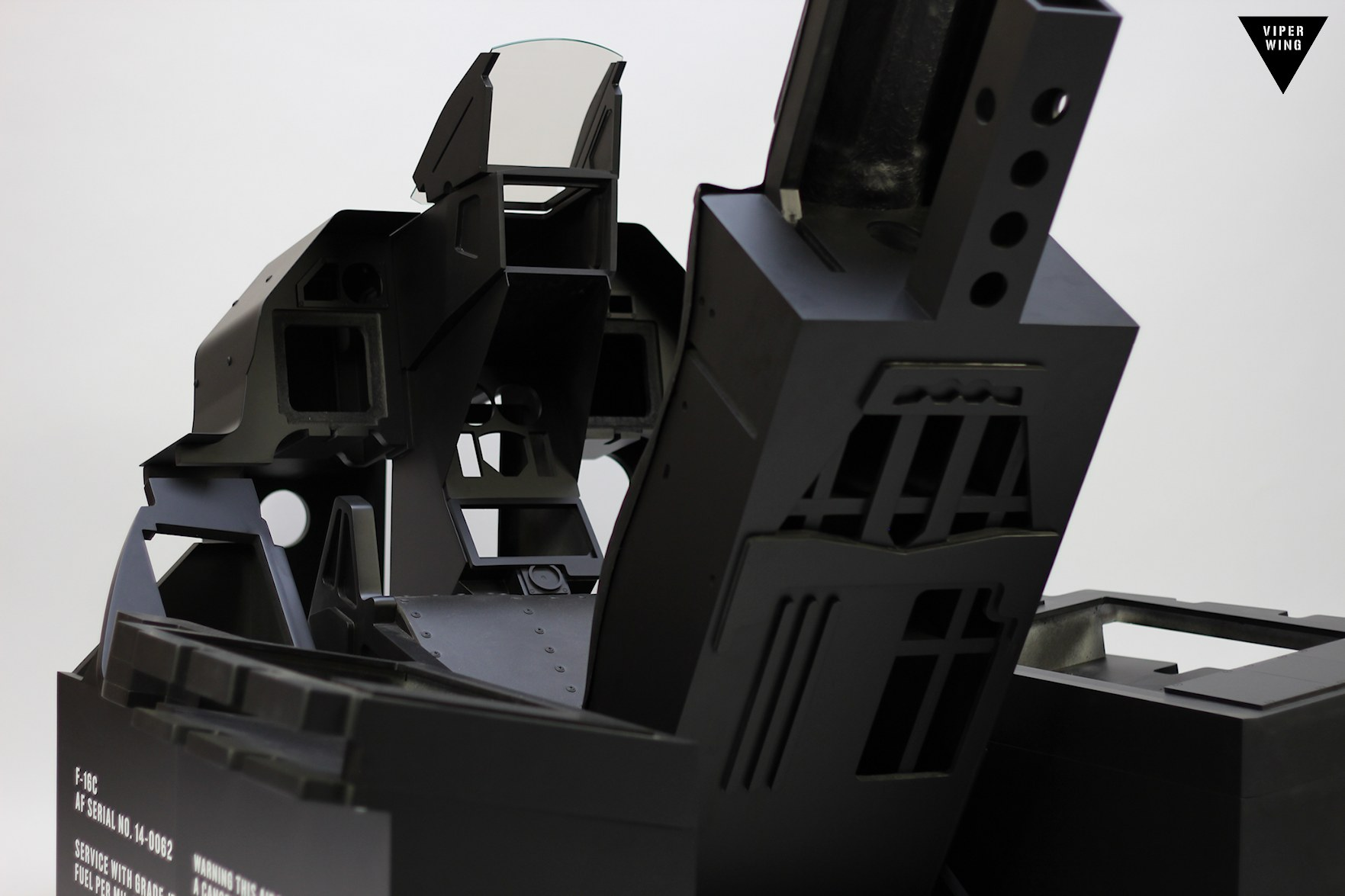 F 16 Simulator Fighter Jet Cockpit Turnkey Viper In 8 Weeks